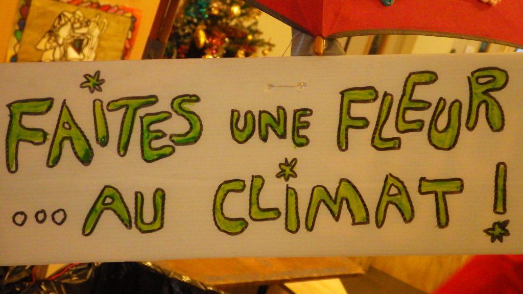 UNE FLEUR AU CLIMAT DESSIN
