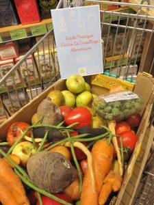 fruits et légumes invendus